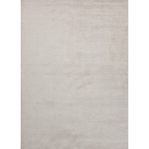 Ultra Luxury Classic Wool Silk Rug Sea Cream White