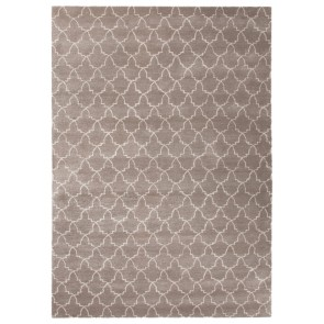 Plush Moroccan Tile Luxury Rug Flint Gray (New)