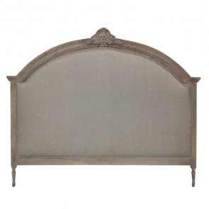 Upholstered French Linen Headboard
