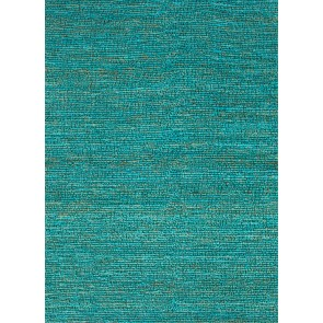 Natural Woven Jute Calypso Rug Cool Aqua NEW!