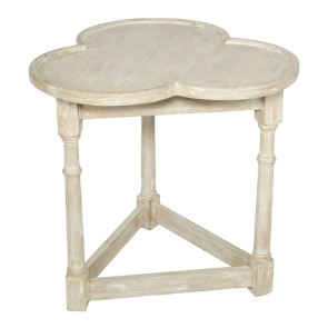 Clover Blue Gray Gate Side Table