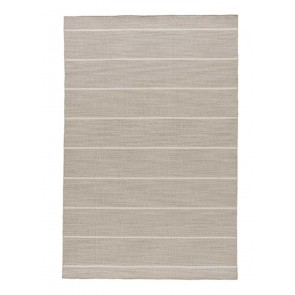 Nantucket Wool Rug Subtle Striped Khaki