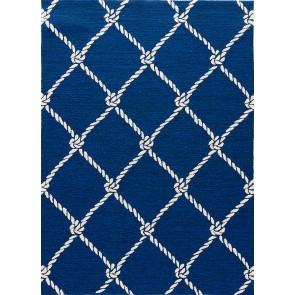 Nautical Knots Blue Navy Blue (Performace)