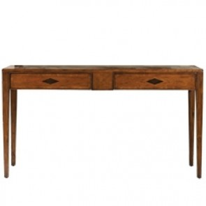 Italian Inspired Dark Cherry Console Table NEW!