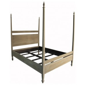 Gasparilla Four Poster Bed (Colors)
