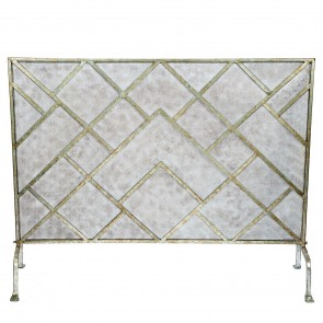 Chinese Chippendale Fireplace Screen