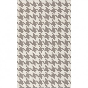 Houndstooth Rug Gray  (limited)