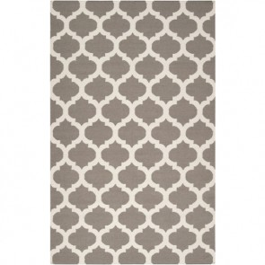 Casablanca Tile Rug Dark Gray