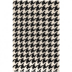 Houndstooth Rug Black & White (limited)