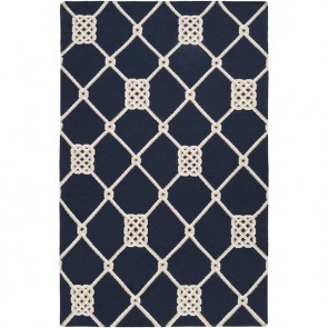 Nautical Knots Rug Navy (Very Limited)