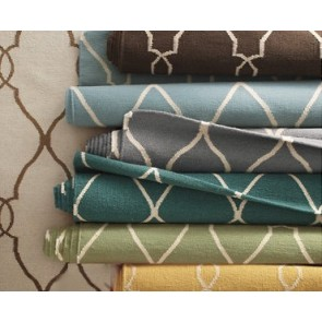Gates Moroccan Tile Wool Rug (COLORS)