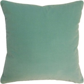 Capri Blue Geen Velvet Custom Made Pillow