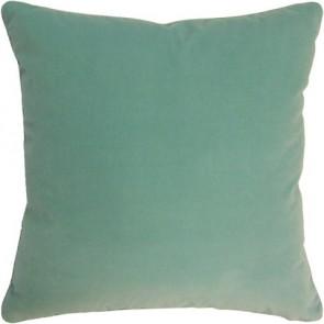 Capri Blue Geen Velvet Custom Made Pillow