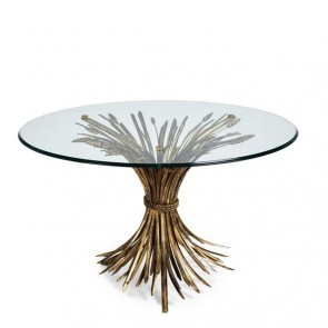 Charlotte Round Wheat Coffee Table (NEW!)