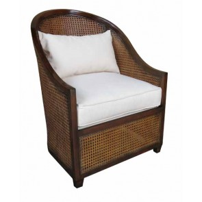 Hemingway Natural Cane Barrel Chair (NEW)