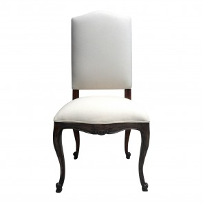Josephine Provencal Upholstered Dining Chair (Custom Finish)