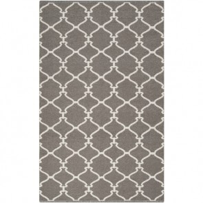 Pewter Moroccan Tile Rug