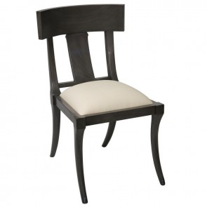 Hand Rubbed Black Chair