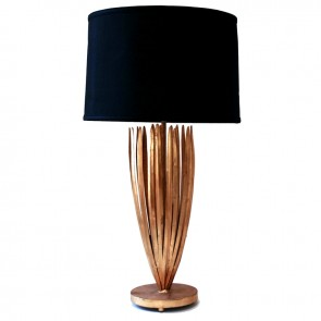 Demeter Gold Reed Lamp (New)