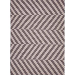 Herringbone Moroccan Salma Wool Rug Gray