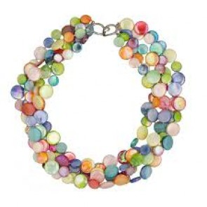 Mother Of Pearl Necklace Fruit Salad (colors and sizes)