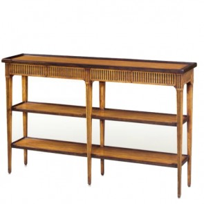 Elegant Honey Directoire Console Table NEW!