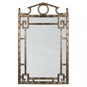 Gold Pagoda Mirror