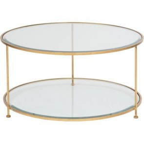 Pimlico Round Gold Luxury Coffee Table