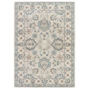 Hand Tufted Plush Poeme Colmar Wool Rug Blues