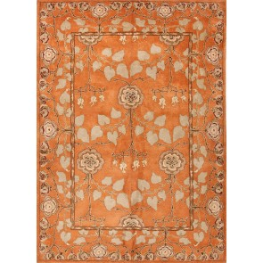 Hand Tufted Poeme Rodez Rug Pumpkin