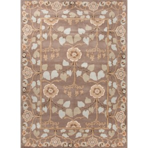 Hand Tufted Poeme Rodez Rug Gray