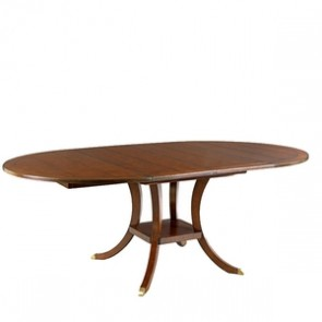 Chad Ford Round to Oval Dining Table (Many Options)