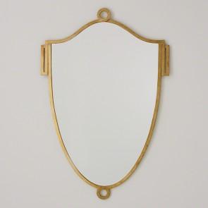 Gold Elegant Shield Mirror (sizes)