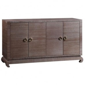 Savannah Textured Grasscloth Cabinet (colors)