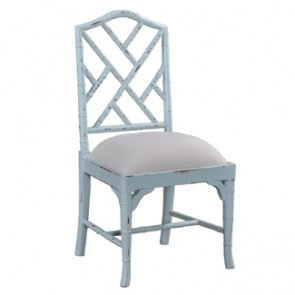 Chinese Chippendale Dining Side Chair (CUSTOM PAINT)