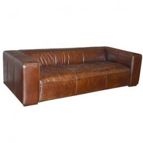 Bolton Oversized Modern Leather Sofa