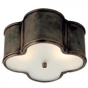 Luxury Basil Overhead Light Bronze Gun Metal