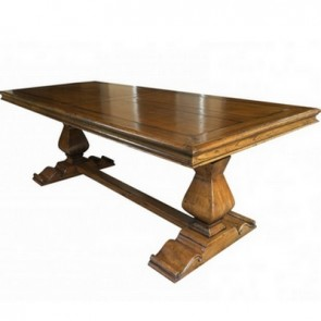 Gloucester Trestle Dining Table Custom Finished