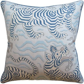 Tibet Pale Blue Animal Custom Made Pillow