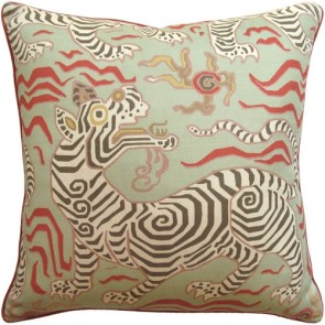 Tibet Pale Green Animal Custom Made Pillow
