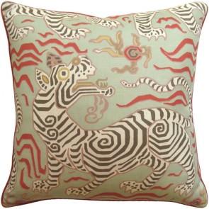 Tibet Pale Green Animal Custom Made Pillow