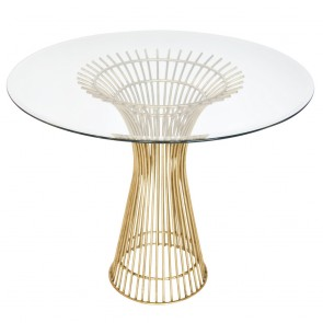 Warren Glass Dining Table and Base (NEW)