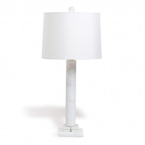 Athens Marble Column Lamp (new)
