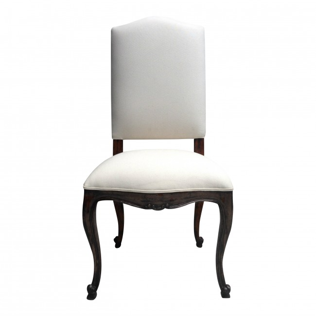 Josephine Provencal Upholstered Dining Chair Custom Finish