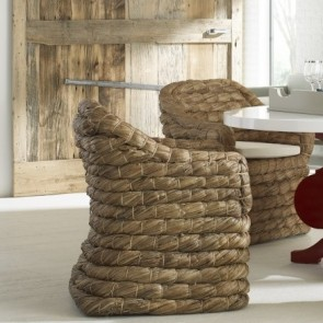 Search Results For Kubu Roma Natural Gray Woven Chair